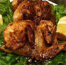 Sautéed Quails with Garlic and Lemon